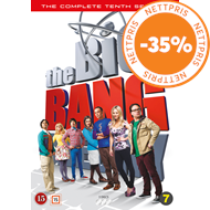 Produktbilde for The Big Bang Theory - Sesong 10 (DVD)