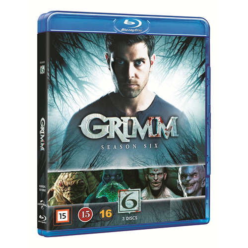 Grimm - Sesong 6 (BLU-RAY)