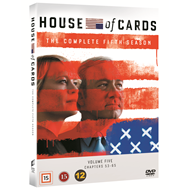 House Of Cards - Sesong 5 (DVD)