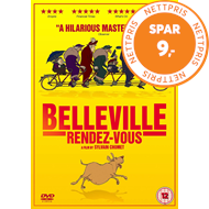 Trillingene Fra Belleville (UK-import) (DVD)