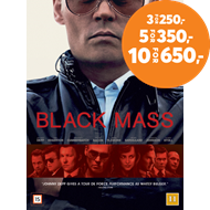 Produktbilde for Black Mass (DVD)