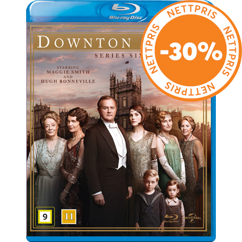 Downton Abbey - Sesong 6 (BLU-RAY)
