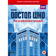Doctor Who - The 10 Christmas Specials (UK-import) (DVD)