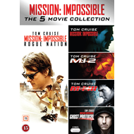 Mission: Impossible - The 5 Movie Collection (DVD)