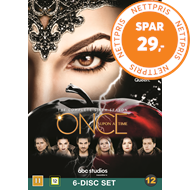 Produktbilde for Once Upon A Time - Sesong 6 (DVD)