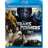 Transformers 5 - The Last Knight (Blu-ray 3D + Blu-ray)