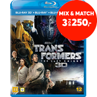Produktbilde for Transformers 5 - The Last Knight (Blu-ray 3D + Blu-ray)