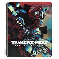 Transformers 5 - The Last Knight: Limited Steelbook Edition (Blu-ray 3D + Blu-ray)