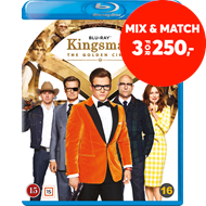 Produktbilde for Kingsman 2: The Golden Circle (BLU-RAY)