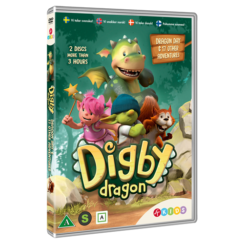 Digby Dragon - Sesong 1 (DVD)