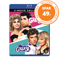 Produktbilde for Grease 1-2  (Remastered) (BLU-RAY)