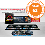 Produktbilde for Jurassic Park 1-4 Gift Set (BLU-RAY)