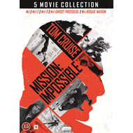 Produktbilde for Mission: Impossible 1-5 (DVD)