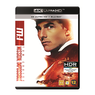 Produktbilde for Mission: Impossible 1 (4K Ultra HD + Blu-ray)