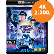 Produktbilde for Ready Player One (4K Ultra HD + Blu-ray)