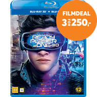 Produktbilde for Ready Player One (Blu-ray 3D + Blu-ray)