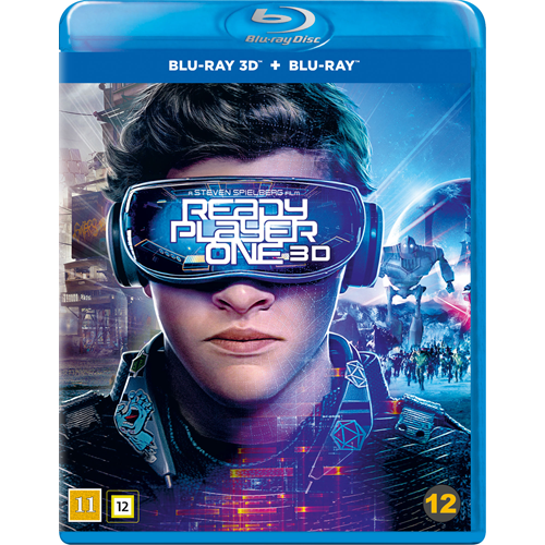 Ready Player One (Blu-ray 3D + Blu-ray)