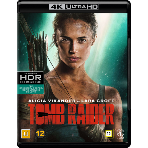 Tomb Raider (2018) (4K Ultra HD + Blu-ray)