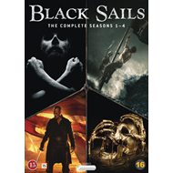 Black Sails - Sesong 1-4 (Complete Collection) (DVD)