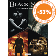 Produktbilde for Black Sails - Sesong 1-4 (Complete Collection) (DVD)