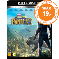 Produktbilde for Black Panther (4K Ultra HD + Blu-ray)