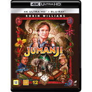 Produktbilde for Jumanji (4K Ultra HD + Blu-ray)