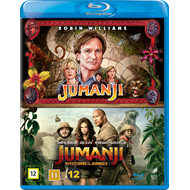 Produktbilde for Jumanji & Jumanji: Welcome To The Jungle Box (BLU-RAY)