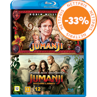 Produktbilde for Jumanji (1995 & 2017): Welcome To The Jungle Box (BLU-RAY)