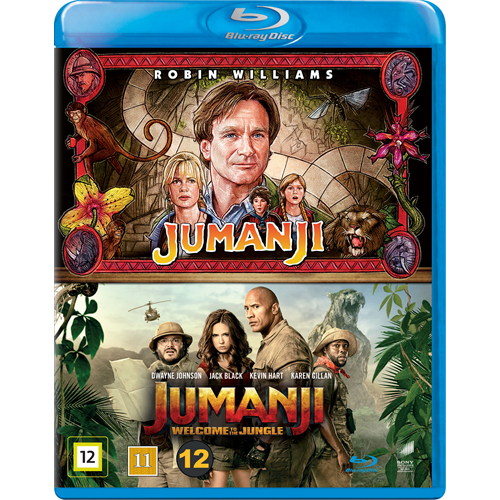 Jumanji & Jumanji: Welcome To The Jungle Box (BLU-RAY)