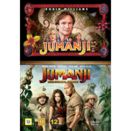 Jumanji & Jumanji: Welcome To The Jungle Box (DVD)