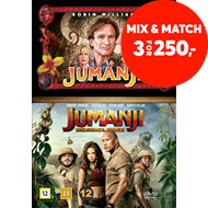 Produktbilde for Jumanji (1995 & 2017): Welcome To The Jungle Box (DVD)