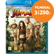 Produktbilde for Jumanji: Welcome To The Jungle (2017) (BLU-RAY)