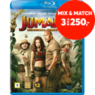Produktbilde for Jumanji (2017): Welcome To The Jungle (BLU-RAY)