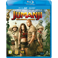 Jumanji: Welcome To The Jungle (Blu-ray 3D + Blu-ray)