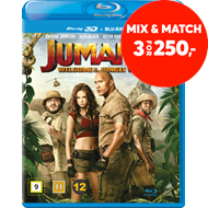 Produktbilde for Jumanji: Welcome To The Jungle (DK-import) (Blu-ray 3D + Blu-ray)