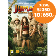 Produktbilde for Jumanji (2017): Welcome To The Jungle (DVD)