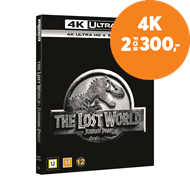 Produktbilde for The Lost World: Jurassic Park (4K Ultra HD + Blu-ray)
