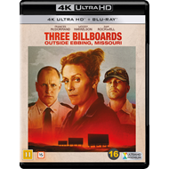 Produktbilde for Three Billboards Outside Ebbing, Missouri (4K Ultra HD + Blu-ray)