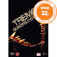 Produktbilde for Tremors Quadrilogy (DVD)