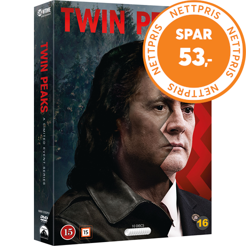 Twin Peaks: A Limited Event Series (2017) (DVD)
