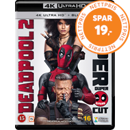 Produktbilde for Deadpool 2 (4K Ultra HD + Blu-ray)