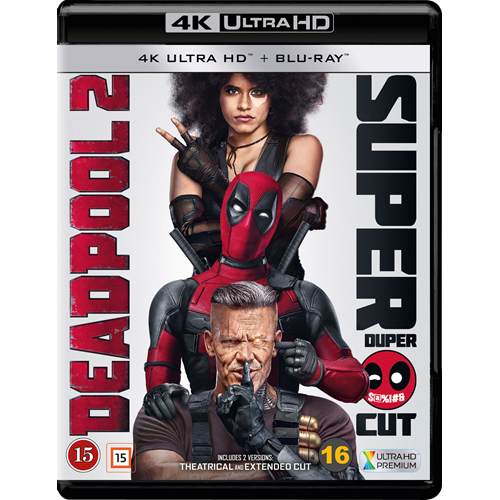 Deadpool 2 (4K Ultra HD + Blu-ray)