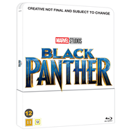Black Panther - Limited Steelbook Edition (DK-import) (BLU-RAY)