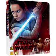Star Wars: Episode VIII - The Last Jedi - Limited Steelbook Edition (BLU-RAY)