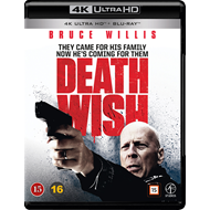 Death Wish (2018) (4K Ultra HD + Blu-ray)