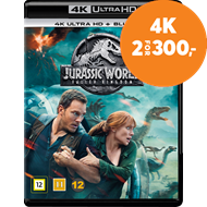 Produktbilde for Jurassic World 2 - Fallen Kingdom (4K Ultra HD + Blu-ray)