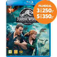 Produktbilde for Jurassic World 2 - Fallen Kingdom (DK-import) (BLU-RAY)