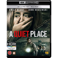 Produktbilde for A Quiet Place (4K Ultra HD + Blu-ray)