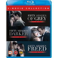 Fifty Shades 1-3 Box (BLU-RAY)