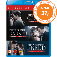 Produktbilde for Fifty Shades 1-3 Box (BLU-RAY)